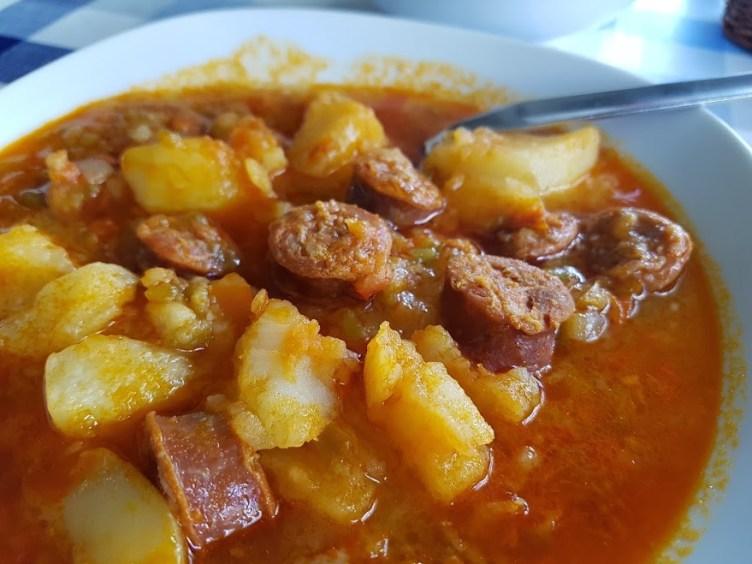patatas riojanas en 10 minutos