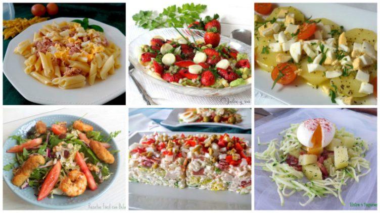 10 ensaladas fáciles y deliciosas