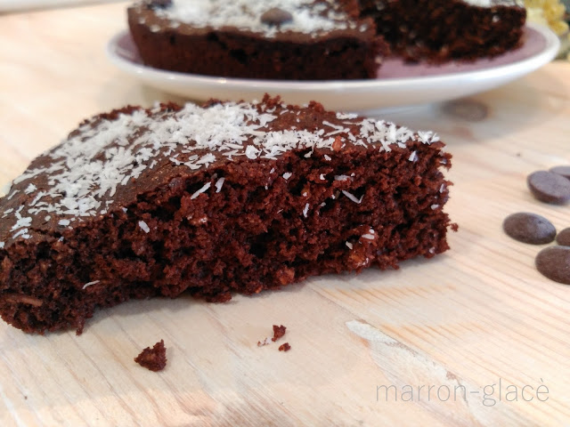 Brownie de chocolate al microondas