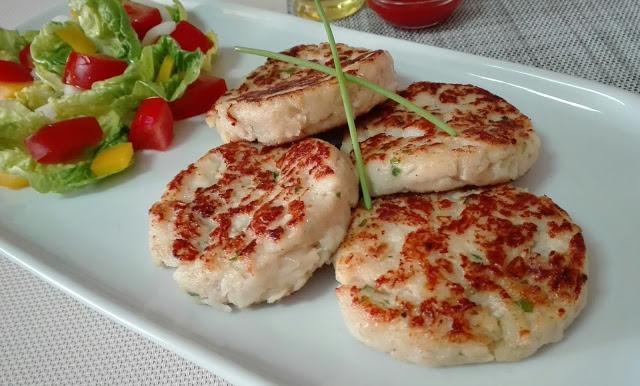 hamburguesas de pescado