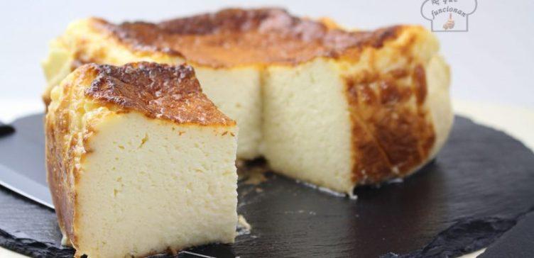 Tarta de queso de San Sebastián