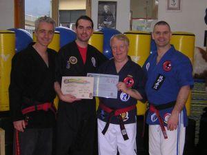 Master Shipp, Mirko Bruzzone, Grand Master Bowman e Master Dyball