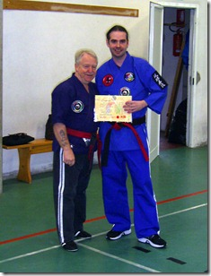 consegna 4 dan (master rank)