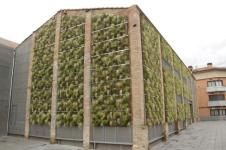 jardín vertical jardines verticales leaf.box rubí varcelona green wall