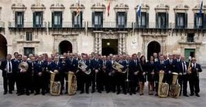 Concierto de la Banda Municipal en La Casa de la Música con motivo de la Diada 9 d'Octubre. @ Casa de la Música. Cigarreras | Alicante | Comunidad Valenciana | España