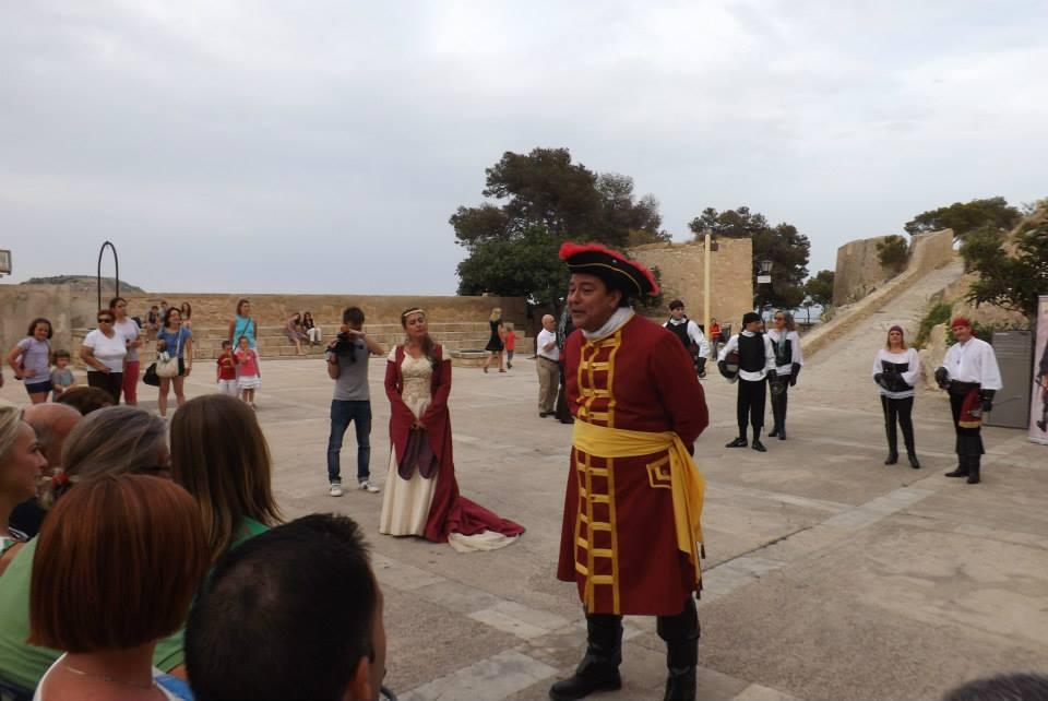 teatralizadas castillo