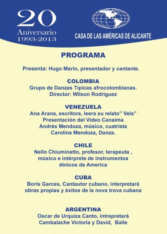 Día de la Hispanidad 2013