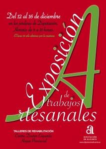 Exposición de trabajos artesanales @ Jardines de la Diputación