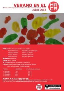 Talleres artísticos para niños en el MACA  @ MACA