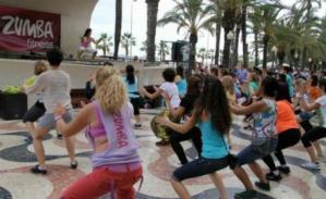 Zumba en la Explanada. Ponte en forma @ Concha de la Explanada | Alicante | Comunidad Valenciana | España