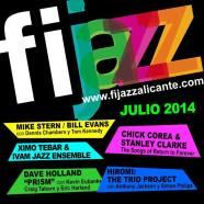 Lo mejor del Jazz internacional se da cita en Alicante del 18 al 26 de julio. FIJAZZ Alicante 2014