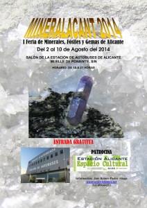 I Feria de Minerales, Fósiles y Gemas  @ Estación de Autobuses Alicante | Alicante | Comunidad Valenciana | España