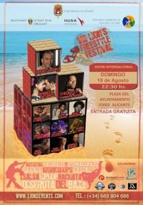 VIII Lions Alicante Freestyle Festival @ Diferentes ubicaciones | Alicante | Comunidad Valenciana | España