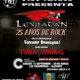 Leviatan. 25 años de rock en Alacant @ LAS CIGARRERAS | Alicante | Comunidad Valenciana | España