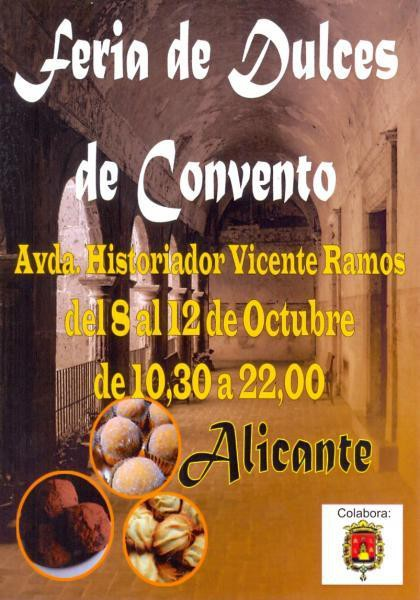 feria dulces de convento octubre 2014