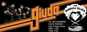 Giuda + The Dunhill Blues @ LAS CIGARRERAS