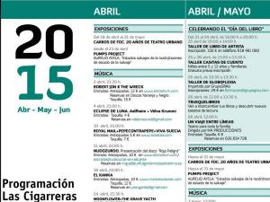 Las Cigarreras C.C Programación cultural @ Las Cigarreras Cultura Contemporánea | Alicante | Comunidad Valenciana | España