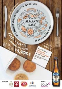 Concurso gastronómico Alicante Sabe. Octubre 2015