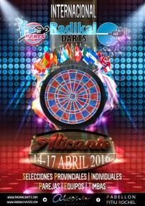 "Campeonato Internacional de dardos ""Radikal Darts"" @ Pabellón Pitu Rochel  | Carrer Foguerer José Romeu Zarandieta | Comunidad Valenciana | España"