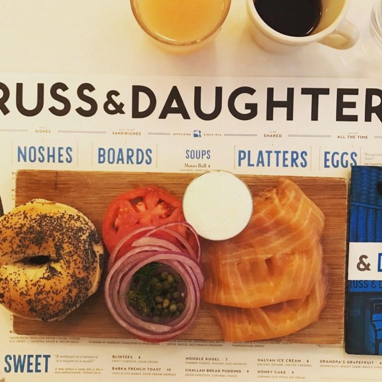 Russ & Daughters Classic board