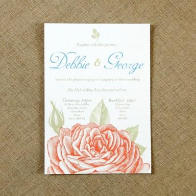 Vintage Wedding Invitations by Vintage Designs | Alice In ...