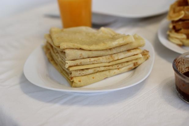 Crêpes à la farine de manioc
