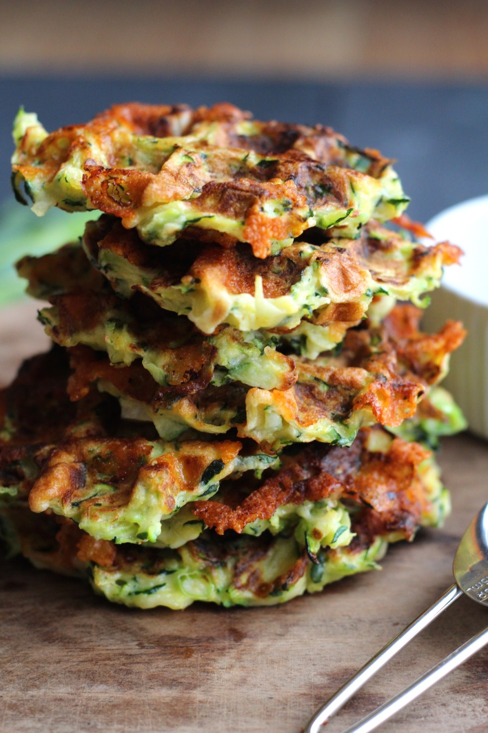 Courgette Waffle Recipe