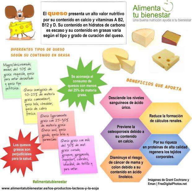 Porqu tomar a diario productos l cteos y soja - Beneficios queso de cabra ...