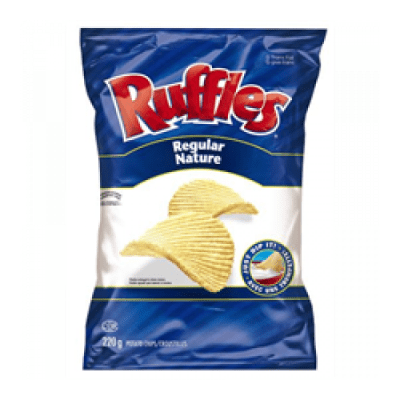 Ruffles Regular Potato Chips | PepsiCo Foods Canada | Aliments du Québec