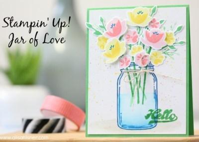 Stampin' Up! Jar of Love