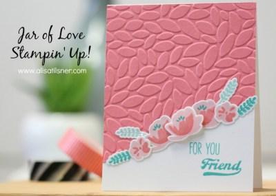 Simple Jar of Love Card
