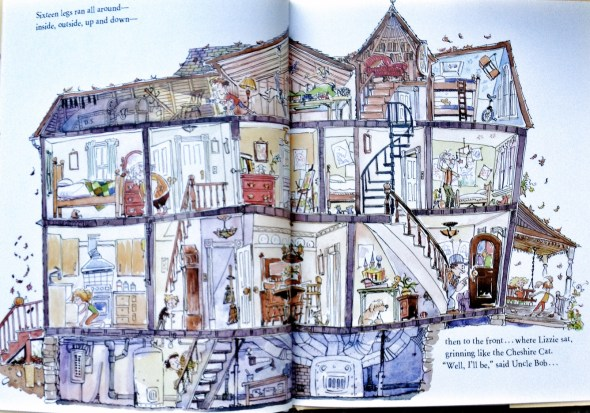 Creaky Old House, Linda Ashman, Michael Chesworth, Great Children's Books