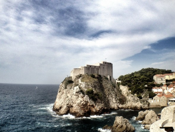 Mediterranean Cruise, Old City , Dubrovnik, Croatia, Mediterranean Ports, European Cruise, Fort Lovrijenac