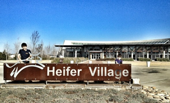 heifer village, kids in little rock, heifer project, things to do in little rock with kids