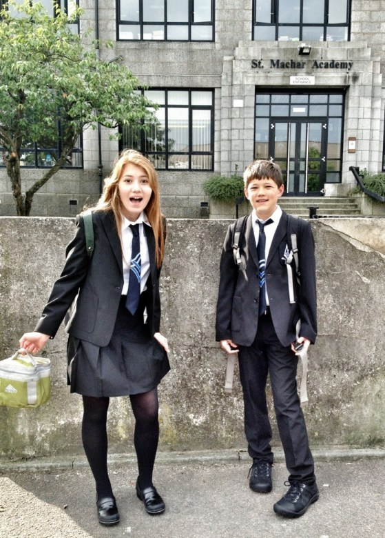 Back To School In Aberdeen, Scotland, Week 2