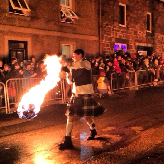 Stonehaven Fireballs, Hogmanay, New Years Eve, Snapshots of Scotland in Winter