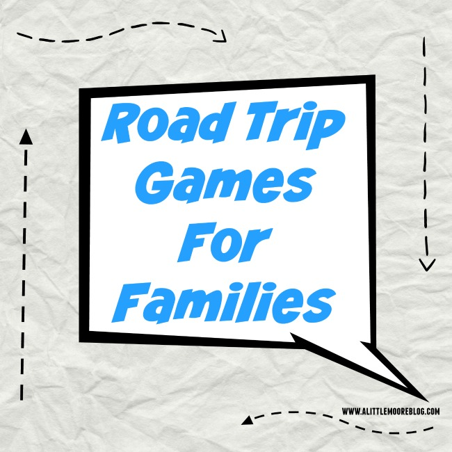 Road Trip Games for Families