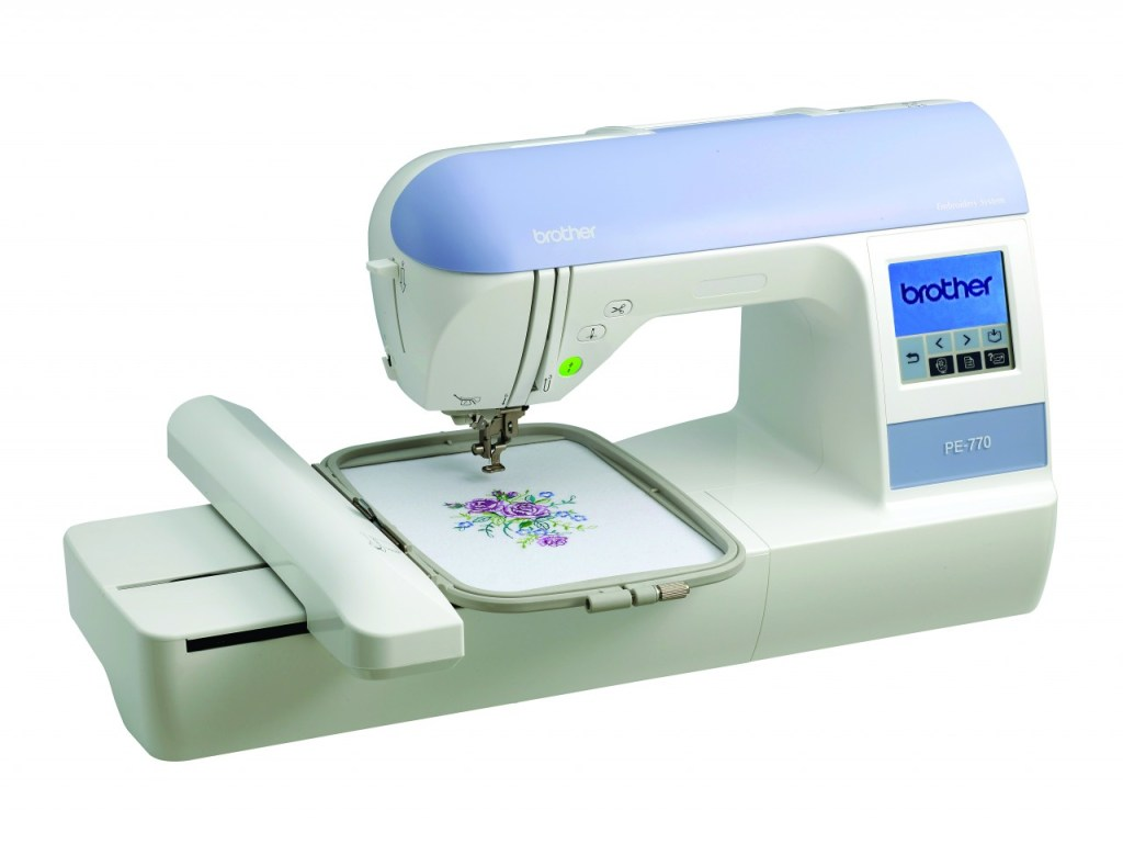 Brother PE770 Review and Beginning Embroidery Supply List