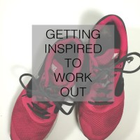 Fit Fridays: Getting Inspired to Work Out