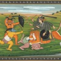 The Myth of Sumbha and Nisumbha