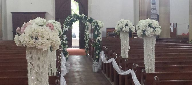Ceremony Decor at Christchurch Bray, Co. Wicklow