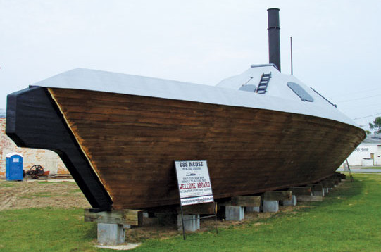 The CSS Neuse replica in Kinston. Photo by Rob Lucey