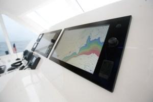 NavNet TZ's sleek edge to edge glass displays look good on any boat.