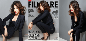 Anushka Sharma Sizzling Hot & Sexy Scans From Filmfare India Magazine March 2015