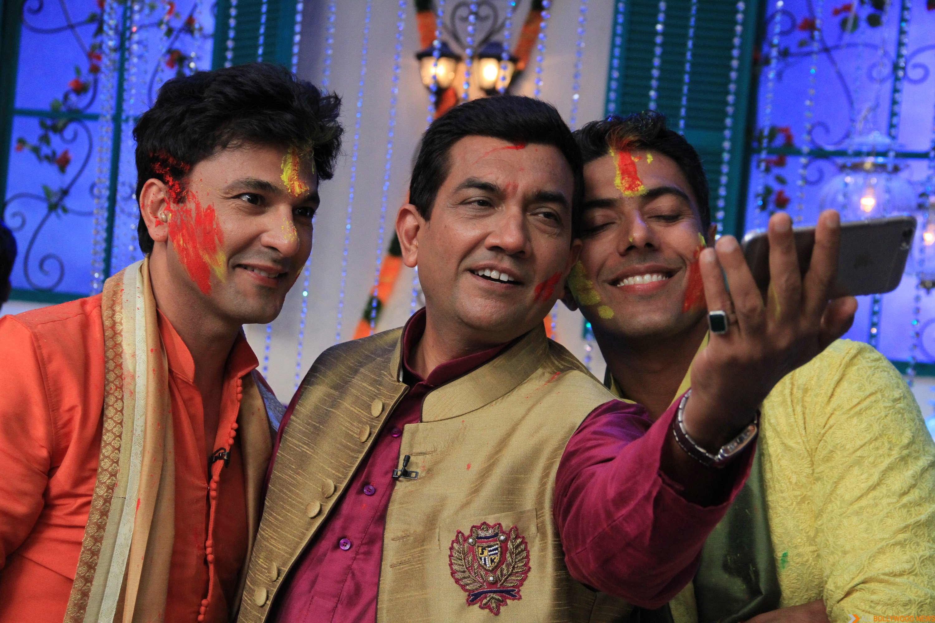 MasterChef India-4 judges in a Holi selfie moment