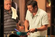 Om Puri spotted shooting for Ghayal Once Again