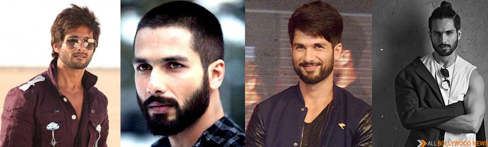 Different avatars of Shahid Kapoor.. Which look do you like the most ?