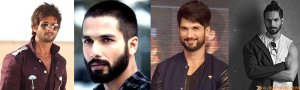 Shahid  Hair Look