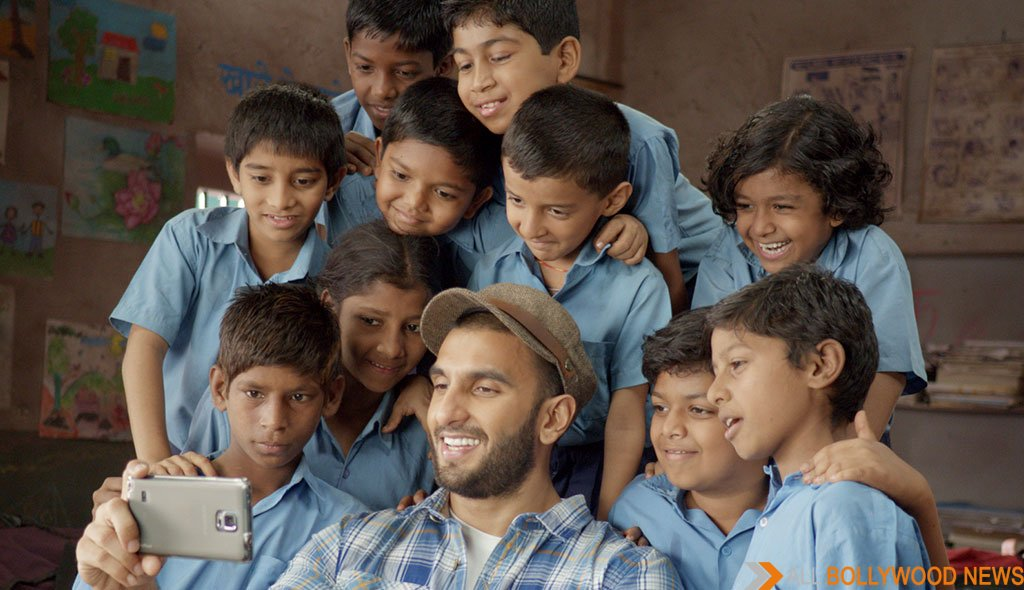 Ranveer Singh says hunger should not stop children from getting an education