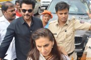 Anil Kapoor visits Siddhivinayak Temple with wife Sunita
